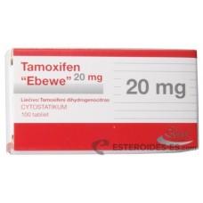 Citrato de Tamoxifeno Ebewe 20 mg